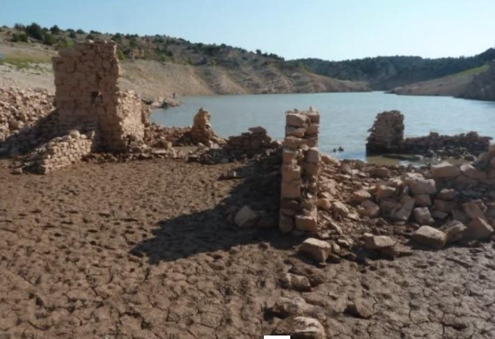 Vean En Detalle Como Está El Pantano De San Blas Video Eco De Teruel
