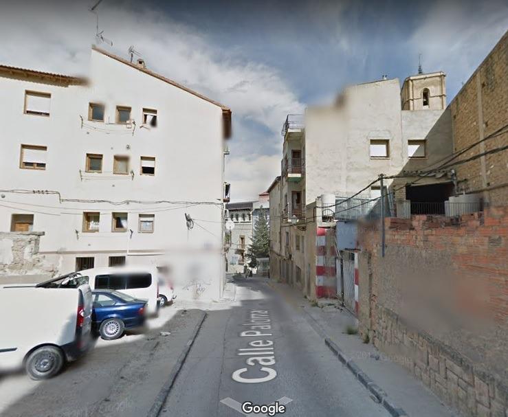 calle palomar de Alcañiz(Foto de Google Maps)