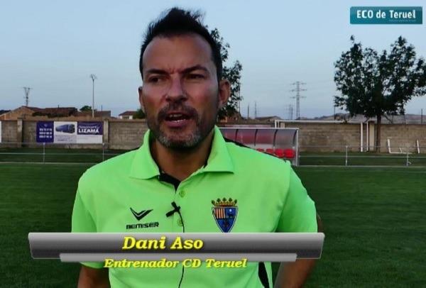 Dani Aso, entrenador CD Teruel