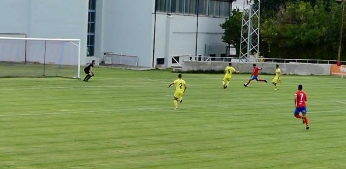 El primer gol de ayer