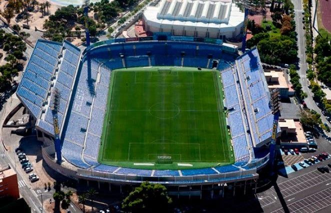 En la imagen, el estadio José Rico Perez , de Alicane, donde mañana juega el CD Teruel