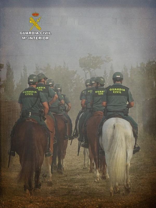 Circuito Alcañiz : La guardia civil realiza auxilio sanitario en el circuito de