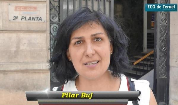 En la imagen, Pilar Buj