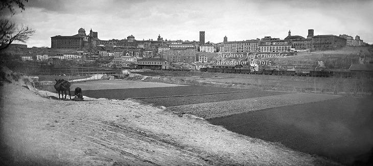 Foto del día:Teruel desde la vega del río.Año 1915