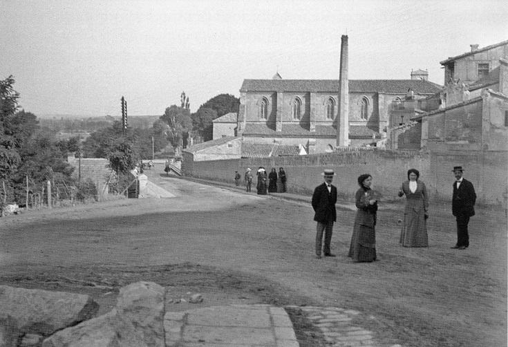 Foto del día: Final de la Calle San Francisco de la capital , año 1910