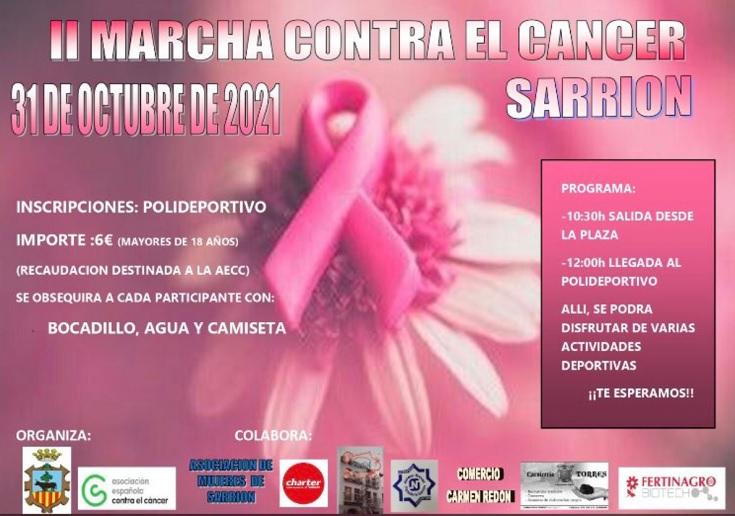 Marcha contra el cáncer en Sarrión. Sera el próximo día 31